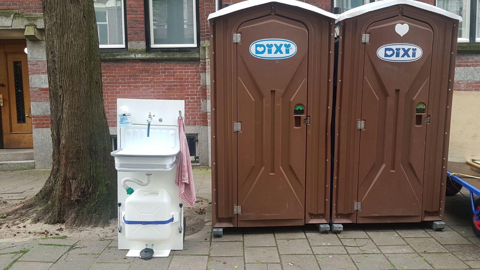 Ook handig bij mobiele WC's